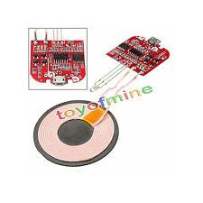 Qi Inalámbrico Cargador PCBA Circuito Board USB interfaz Carga Para iPhone Móvil