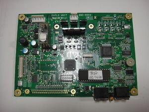 Duplo TRDP MC Unit, Serial #99C-80041