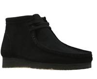 Clarks Originals  Wallabee Boot Men's Black Suede Style #26133281