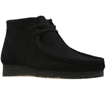Clarks Originals Wallabee Boot Estilo De Gamuza Negra para Hombre #26133281