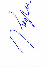 Signed Cards Certified Original Collectable Film Autographs