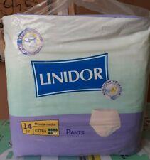 56 Pannoloni,per adulti linidor pants extra misura media 4x14pz per incontinenza
