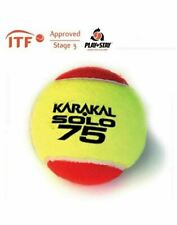 Karakal Solo 75 Red Tennis Itf Approved Low Pressure & Bounce Ball - 1 Dozen