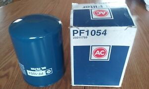 AC Delco PF1054 Engine Oil Filter for Ford IHC Diesel Engines