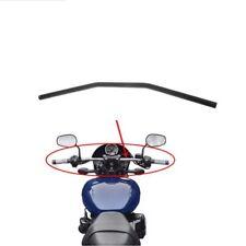 "1"" Black Motorcycle Drag Bars Handlebars 32"" Wide For Honda Yamaha Suzuki New"