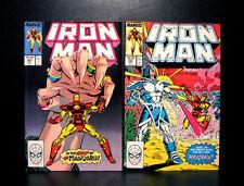 COMICS: Marvel: Iron Man #241-242 (1989), The Mandarin app - RARE