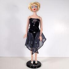 "Gene Paris Fashion Doll Festival 2002 Convention Flapper 1920s Stand 16"" Blonde"