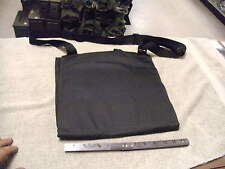 Black Nylon Shoulder Map Case with Shoulder Strap