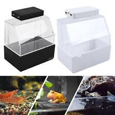 Mini Complete Desktop Fish Tank w/Led+Thermometer Nano Tank For Home/Office