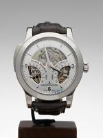 JAEGER-LECOULTRE MASTER MINUTE REPEATER PLATINUM WATCH 164.64.20 44MM W3246