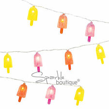 ICE Lolly Stringa Luci-Festa Estiva Decorazione/Garland/BANNER/i ghiaccioli/Crema