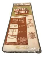 "New Sealed Stamp CRYSTAL MOUNT ~ 3 7/8"" Cover Size Y746B ~ 22 Tubes Per Pack"