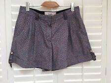 LUELLA Floral loose fit shorts - UK 12