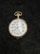 14k Gold Waltham Ruby Grade Ruby, Model 1898, Size 6/0s, 17J's, Pocket Watch