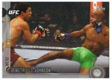2015 Topps UFC Chronicles Silver Parallel #171 Demetrious Johnson