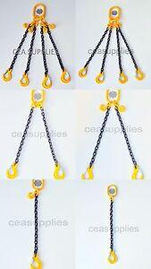 7mm 8mm 10mm 13mm Chain Sling 1 2 4 Leg Shortner Clevis Sling Hook  ID Lifting