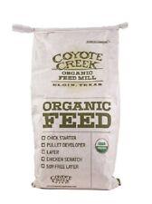 COYOTE CREEK CHICKEN SCRATCH USDA CERTIFIED ORGANIC FEED 20 LB
