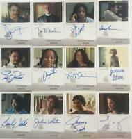 12 Different Six Feet Under Seasons 1 & 2 Autograph cards lot  Taylor Sisto Ross