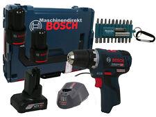 Bosch Akku Bohrschrauber GSR 12V-20 bürstenloser EC Motor + Makita Bit Set 22tlg