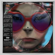 GORILLAZ LP x 2 Humanz PICTURE DISC Dbl. Vinyl RSD Record Store Day Black Friday
