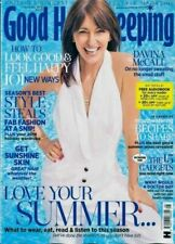 Good Housekeeping Magazine August 2019 Issue 08 Davina McCall Cover
