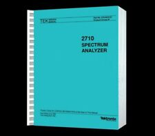 Tektronix 2710 Spectrum Analyzer Hi Resolution Paper Reprinted Service Manual+CD