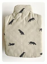 Sophie Allport - Labrador - Hot Water bottle Cover 100% Cotton - Discontinued
