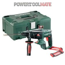 Metabo KHA 18 LTX 18V Cordless SDS Hammer Drill (Body Only) with Metaloc Case