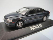 Volvo S80 Dark Blue Azul marino - Minichamps 1/43 cochesaescala