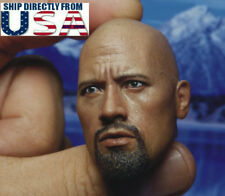 1/6 Dwayne Johnson Head Sculpt The Rock Fast & Furious For Hot Toys Male Figure