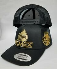 PEMEX JALISCO  HAT  2LOGOS  MESH TRUCKER SNAP BACK ADJUSTABLE  NEW