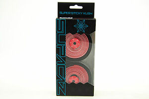 Supacaz Super Sticky Kush Road Bike Handlebar Tape, Star Fade Red/Black