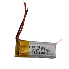 3.7V 45 mAh Polymer Li battery LiPo For GPS Mp3 Bluetooth headset pen 360821
