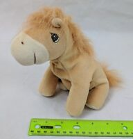Precious Moments Tender Tails Horse Pony Tan Gold Plush Stuffed Animal Enesco