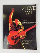 "Steve Vai Guitar Extravaganza Sheet Music David Lee Roth ""Eat 'em and Smile�"