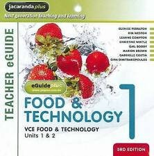 VCE Food & Technology Units 1 & 2 Book 1 eGuidePLUS (Registration Card) ' Weston