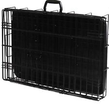 Foldable Dog Crate 42x27x30 Ideal for family vacations with your favorite K-9