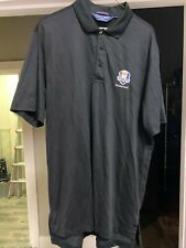 2016 Ryder Cup Hazeltine Polo Performance golf shirt - Black - Large - New