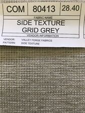 ~A Designs~ Bty Valley Forge Fabrics Chenille Grey Beautiful Upholstery Fabric