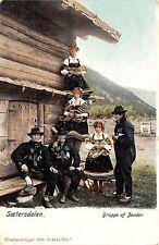 B71253 Soetersdalen Gruppe af Bender folklore costume Norway