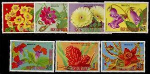 Equatorial Guinea MI 911-7 MNH Flowers