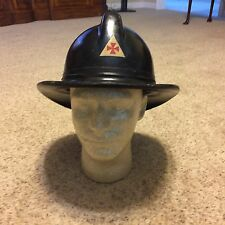 Rare Style WW2 Civil Defense Auxillary Firemans Hat helmet