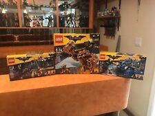 3 LEGO Batman Movie Clayface Splat Attack 70904, & Catwoman 70902 & 70901 NEW