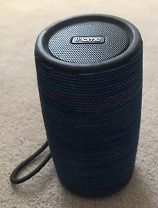 iHome Fabric Wrapped Bluetooth Rechargeable Speaker IBT77V2L -Missing charger203