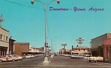 View on Main Street in Downtown Yuma AZ Postcard