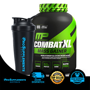 MUSCLEPHARM Combat XL, Mass Gainer, 2 Flavours, plus free shaker