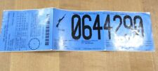 1999 Wisconsin Deer Hunt Hunting Back Tag 064 4290  with Doe Permit tag   >
