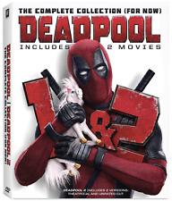 Deadpool 1&2 (DVD 2020, 2 Movie Collection Set) Ryan Reynolds - New w/ FREE Ship