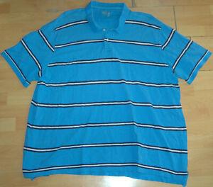 Edition Polo Shirt in 4XL XXXXL - Blue - Cotton