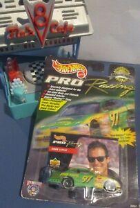 Car 1:64 Diecast 1998 NACAR Trading Paint John Deere Chad Little Hot Wheels Ford